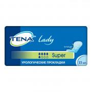 Tena Lady Super / Тена Леди Супер - урологические прокладки для женщин, 15 шт.