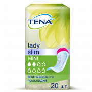 Tena Lady Slim Mini / Тена Леди Слим Мини - урологические прокладки для женщин, 20 шт.