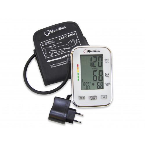 MediTech MT-40 / Медитек - тонометр автоматический, для 2-х пользователей, с манжетой 22-36 см, с адаптером