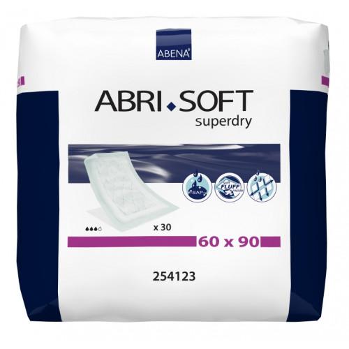 Abena Abri-Soft Superdry / Абена Абри-Софт Супердрай - впитывающие пеленки, 90x60 см, 30 шт.