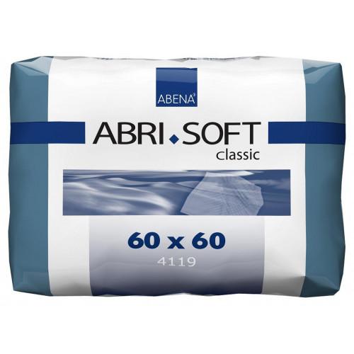 Abena Abri-Soft Classic / Абена Абри-Софт Классик - впитывающие пеленки, 60x60 см, 10 шт.