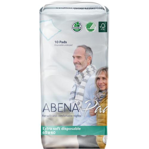 Abena Abri-Soft Classic / Абена Абри-Софт Классик - одноразовые впитывающие пеленки, 60x60 см, 10 шт.