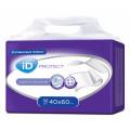 iD Protect / АйДи Протект - одноразовые впитывающие пелёнки, 40x60 см, 30 шт.