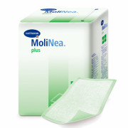 [недоступно] MoliNea Plus / МолиНеа Плюс - одноразовые впитывающие пеленки, 90x60 см, 110 г/м2, 100 шт.