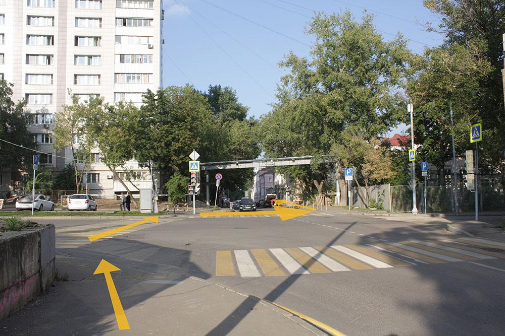 Прозабота ру - схема дороги к магазину